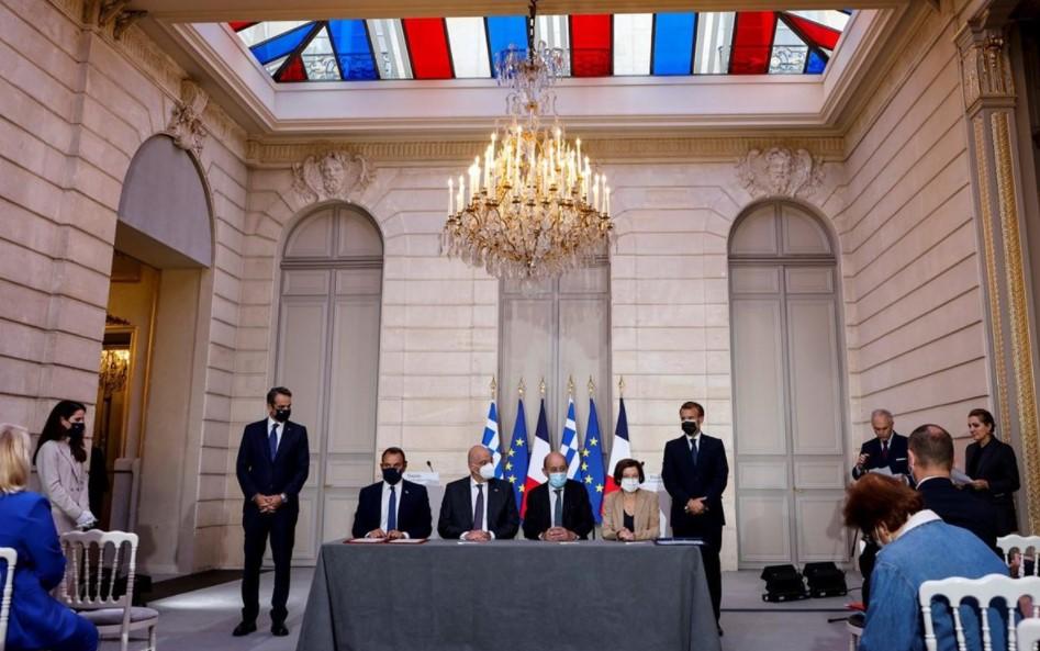 Αμυντική Συμφωνία Ελλάδας-Γαλλίας