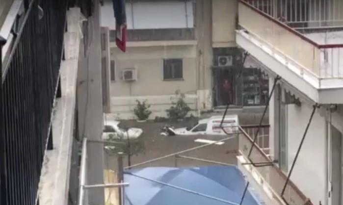 Εικόνες πλημμυρικής καταστροφής σε γειτονιές της Αθήνας εχει προκαλέσει στην Αθήνα ο Μπάλλος
