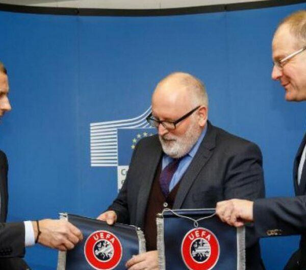 Κομισιόν,UEFA, κλιματική αλλαγή