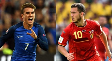 Γαλλία και Βέλγιο ρίχνονται στη μάχη για μία θέση στον τελικό
