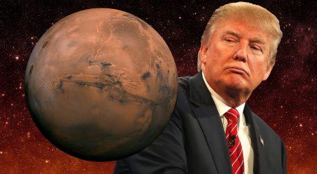 Τραμπ: Στον Άρη μέσω Σελήνης αλλά για αμυντικούς λόγους…