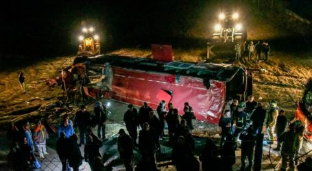 Βόρεια Μακεδονία: 13 νεκροί από ανατροπή λεωφορείου έξω από τα Σκόπια