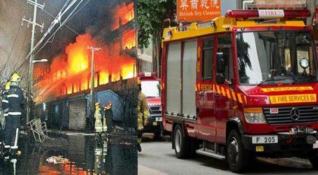 Tουλάχιστον 18 νεκροί από πυρκαγιά σε ξενοδοχείο στην Κίνα