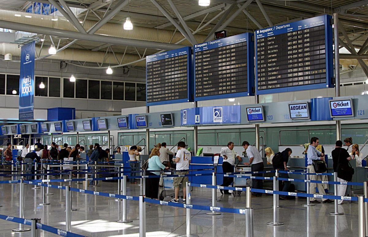 65,4 εκατ. επιβάτες στα αεροδρόμια της χώρας το 2019