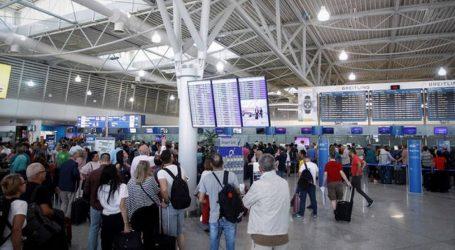 Ελ. Βενιζέλος: Αύξηση 13,3% στη συνολική ταξιδιωτική κίνηση τον Αύγουστο