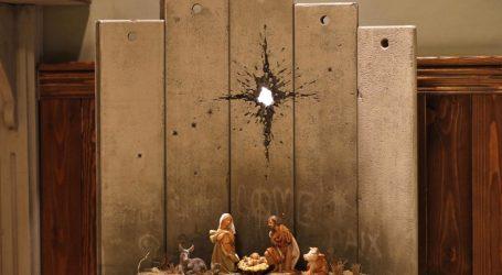Η Χριστουγεννιάτικη δημιουργία του Banksy (vid)