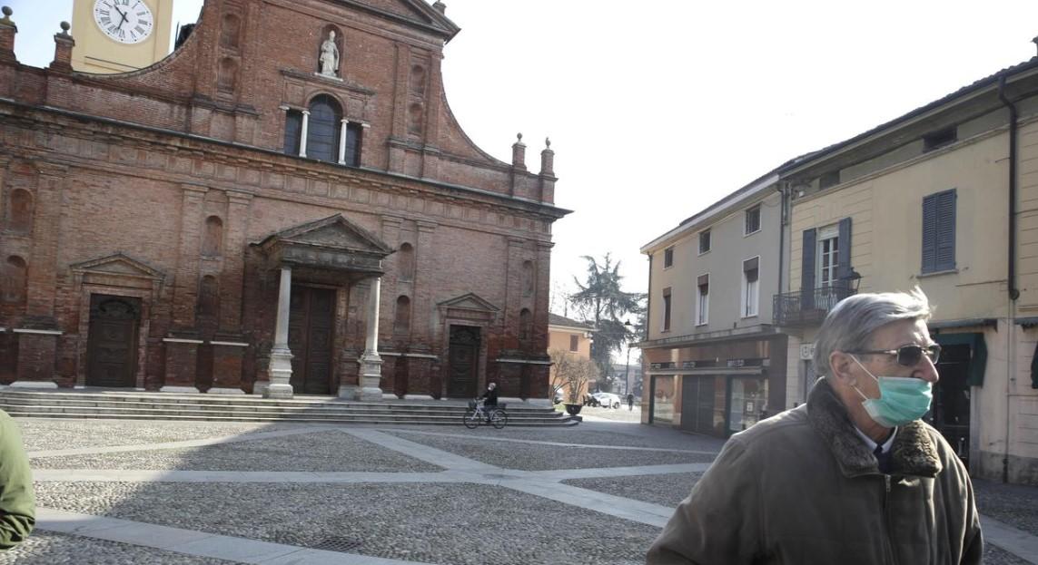 Κορωνοιος στην Ιταλια