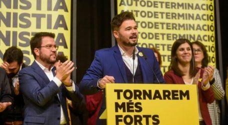 Ισπανία: Το καταλανικό κόμμα ERC δεν στηρίζει τη συμμαχία PSOE – Podemos