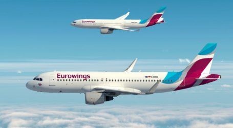 16 νέα δρομολόγια από και προς την Ελλάδα εγκαινιάζει η Eurowings για το φετινό καλοκαίρι