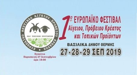 1o Φεστιβάλ Αίγειου και Πρόβειου Κρέατος και τοπικών προϊόντων στη Θέρμη