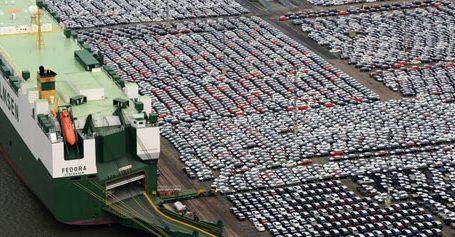Yποχώρησαν η γερμανική βιομηχανική παραγωγή και οι εξαγωγές