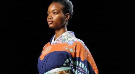 Η Hiromi Asai και η σύγχρονη εκδοχή των κιμονό στην Εβδομάδα Μόδας στο Παρίσι