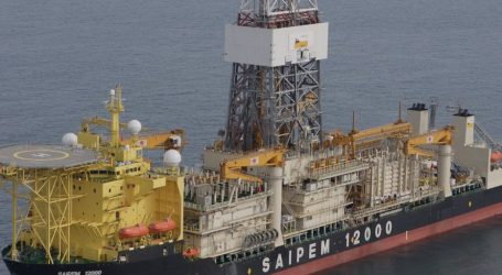 Παραμένει σε ακινησία το ιταλικό πλοίο γεωτρύπανο στην κυπριακή ΑΟΖ που παρενόχλησαν οι Τούρκοι