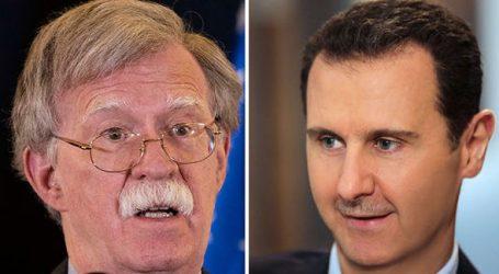 """Μπόλτον: Ο Άσαντ να μην εκλάβει την αποχώρηση των ΗΠΑ από τη Συρία ως """"ευκαιρία"""" του"""
