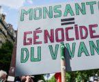Γαλλία: Ακτιβιστές διαδήλωσαν έξω από την έδρα της Monsanto
