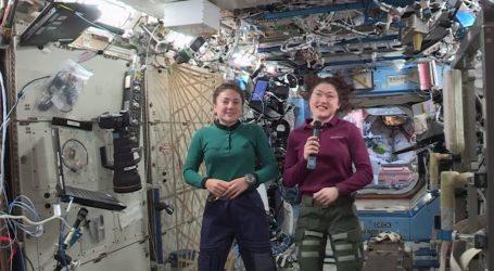 Ολοκληρώθηκε και ο τρίτος περίπατος αποκλειστικά για γυναίκες στο διάστημα
