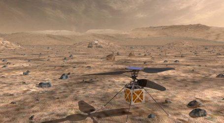 Η NASA στέλνει στον Άρη αυτόνομο ελικόπτερο
