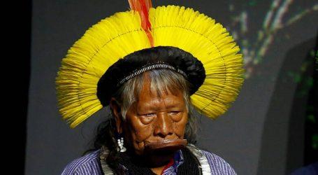 Ο 89χρονος ιθαγενής αρχηγός Ραονί, υποψήφιος Νόμπελ Ειρήνης για τους αγώνες του για την Αμαζονία