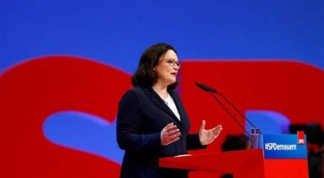 «Ανταρσία» εναντίον της Νάλες σχεδιάζουν βουλευτές του SPD