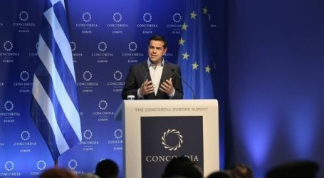 (VID) Τσίπρας στην ετήσια σύνοδο του Concordia: Η Ελλάδα είναι η ηγέτιδα δύναμη στην περιοχή μας