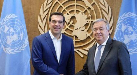 Γκουτέρες: Παράδειγμα η Ελλάδα για τη στάση της στο προσφυγικό