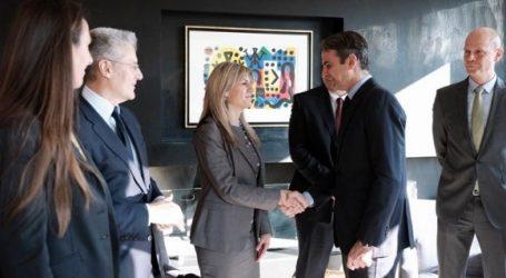 Συνάντηση Μητσοτάκη με εκπροσώπους γερμανικών επιχειρήσεων