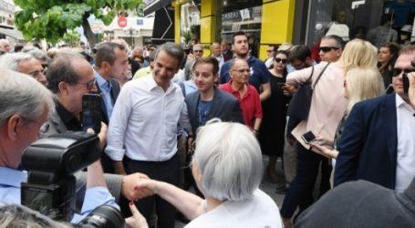 Μητσοτάκης: Εφόσον με εμπιστευτεί ο λαός, θα είμαι πρωθυπουργός όλων των Ελλήνων