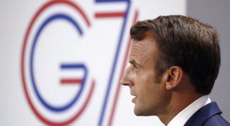 Μακρόν: Καμία συναίνεση για πρόσκληση της Ρωσίας στην επόμενη σύνοδο κορυφή G7