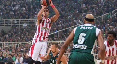 Euroleague: Κέρδισε ο Ολυμπιακός τον Παναθηναϊκό μέσα στο ΟΑΚΑ