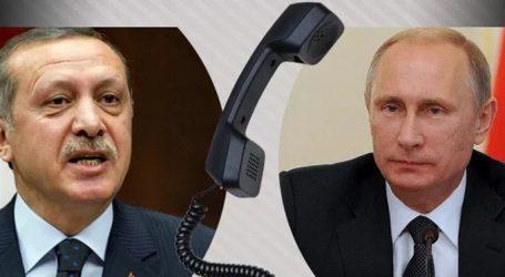 Τηλεφωνική επικοινωνία Πούτιν-Ερντογάν για τη Συρία