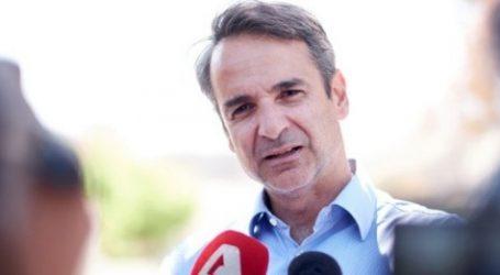 Μητσοτάκης: Οι πυροσβέστες απολαμβάνουν του θαυμασμού ολόκληρης της ελληνικής κοινωνίας