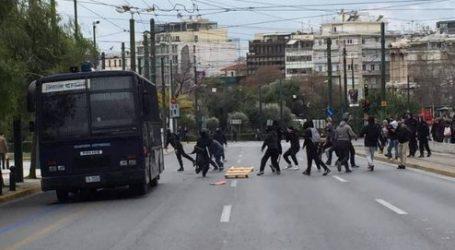 Επεισόδια στην Αθήνα κατά το μαθητικό συλλαλητήριο κατά του νέου Λυκείου