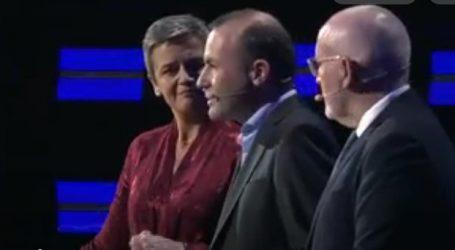 Σε εξέλιξη το debate με τους κορυφαίους υποψηφίους για την προεδρία της Κομισιόν