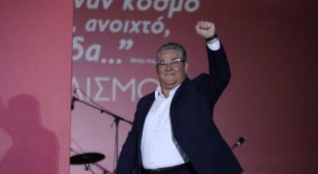 45ο Φεστιβάλ ΚΝΕ-Οδηγητή | Κουτσούμπας: Δεν υπάρχει τομέας, που ο ΣΥΡΙΖΑ να μην έχει στρώσει το έδαφος στην κυβέρνηση της ΝΔ