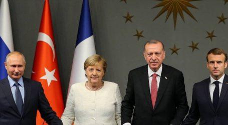4μερής Μέρκελ-Πούτιν-Μακρόν-Ερντογάν για τη Συρία: Προσπάθεια συνεννόησης για τη μεταπολεμική περίοδο