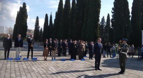Εκδήλωση μνήμης για τη λήξη του Α΄ Παγκοσμίου Πολέμου στη Θεσσαλονίκη