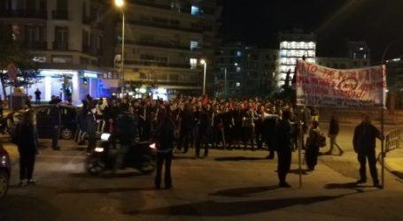 Πορεία φοιτητών και στη Θεσσαλονίκη για την εισβολή των ΜΑΤ στην ΑΣΟΕΕ με μικροεπεισόδια