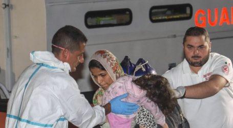 Ιστιοφόρο με 51 Κούρδους προσάραξε στην Καλαβρία