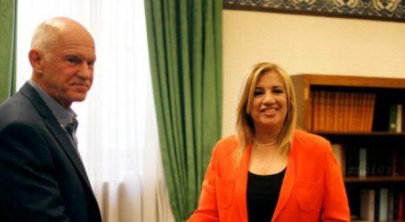 KINAΛ: Ολοκληρώθηκε χωρίς ανακοινώσεις η συνάντηση Γεννηματά-Παπανδρέου