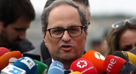 Ο ηγέτης της Καταλονίας ζητεί συνομιλίες με την κεντρική κυβέρνηση της Ισπανίας