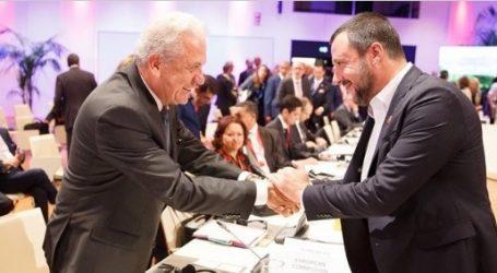 Συνάντηση Αβραμόπουλου-Σαλβίνι τη Δευτέρα στη Ρώμη