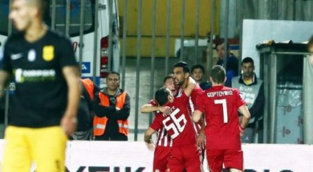 Super League | Επωφελήθηκε βαθμολογικά: Άρης-Ολυμπιακός 0-1 | Οι άλλοι αγώνες