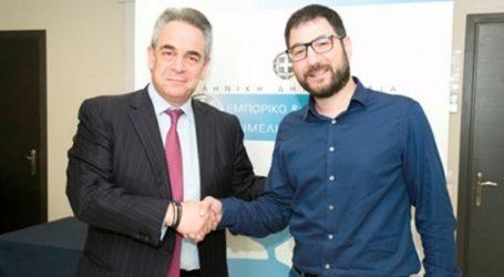 Ηλιόπουλος-Μίχαλος: Ανοικτός διάλογος για να αποκτήσει ξανά η Αθήνα τον παλμό μιας σύγχρονης μητρόπολης
