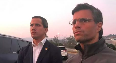 Βενεζουέλα: Στην πρεσβεία της Χιλής ζήτησε άσυλο ο Λεοπόλδο Λόπες που το πρωί είχε αναγγείλει το πραξικόπημα στο πλευρό του Γκουαϊδό