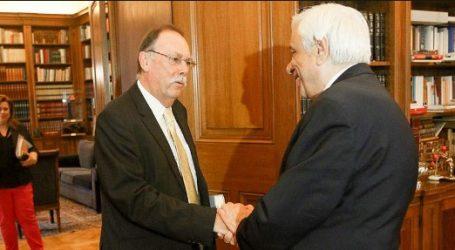 Συνάντηση Πρ. Παυλόπουλου με τον καθηγητή Ρόντρικ Μπίτον