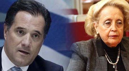 Γεωργιάδης: Η κυρία Θάνου μπορεί να προσφύγει δικαστικά σε όποιο όργανο νομίζει