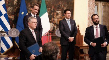 Συμφωνία ευρείας ενεργειακής συνεργασίας υπέγραψαν Ελλάδα και Ιταλία