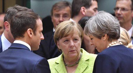 Mακρόν-Μέρκελ-Μέι ζητούν από τον Τραμπ να μην επιβάλλει δασμούς κατά της ΕΕ