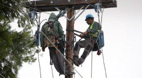 Ως το μεσημέρι η αποκατάσταση του δικτύου υψηλής τάσης στη Χαλκιδική