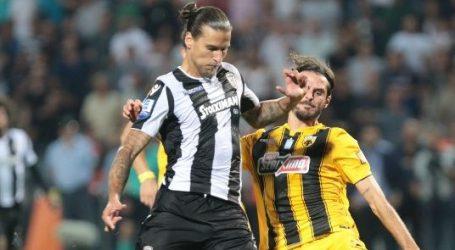 """Mε 2-0 """"καθάρισε"""" ο ΠΑΟΚ την ΑΕΚ – Και τα 2 γκολ ο Πρίγιοβιτς"""
